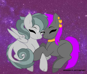 Happy Valentines Day! From Saphy and Pj by DiamondHunter2412005