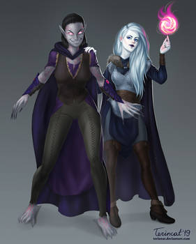Commission: Heln Northeil and her Eidolon