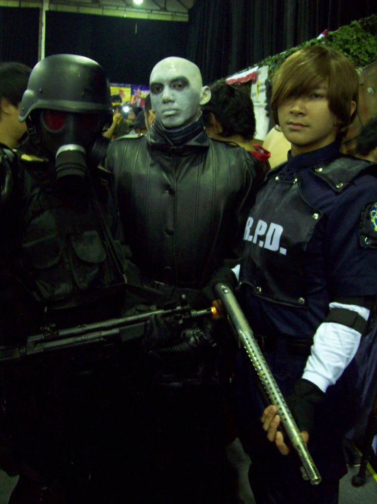 Hunk Mr X And Leon S Kennedy By Voclas On Deviantart