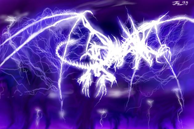 Clã Ryu - O verdadeiro poder dos dragões; Thunder_dragon_by_jetzero-d3fr2pf