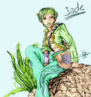 Peaceful Jade by Tzoli