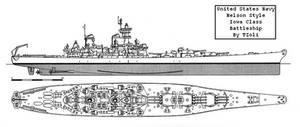 USS Iowa Nelson Style by Tzoli