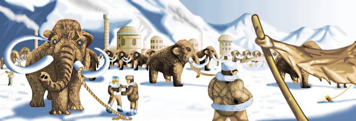 The Mammoth Market by Tzoli