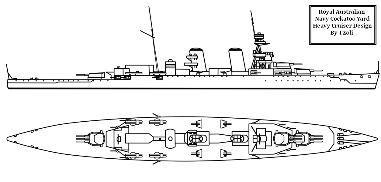 The First Local Cruiser of Australia by Tzoli