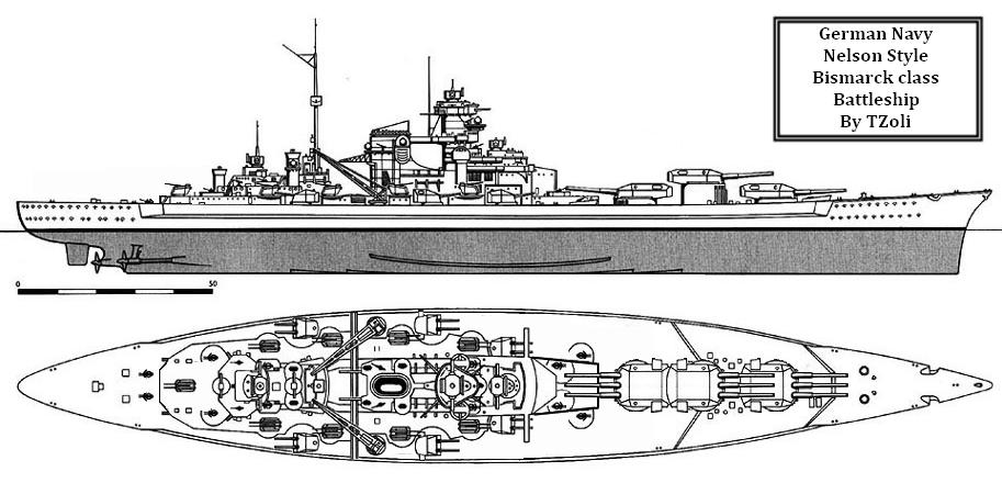 Tirpitz ala Rodney by Tzoli