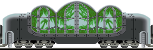 Bio-Greenhouse Wagon by Tzoli