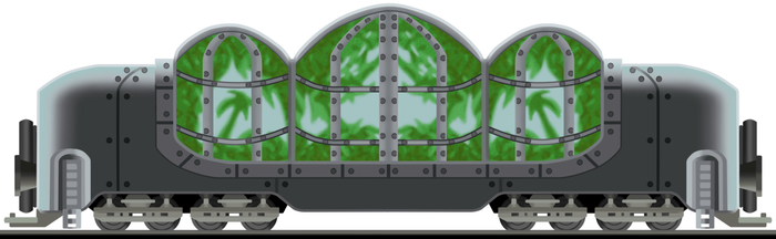 Bio-Greenhouse Wagon by Tzoli