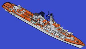 Raketnyy Kreyser Admiral Flota Lobov
