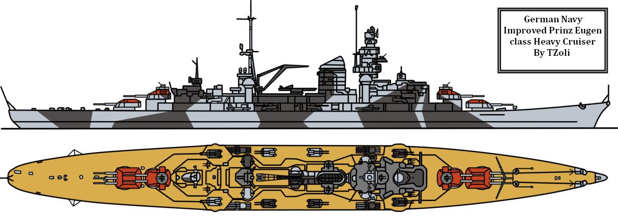 KMS Prinz Eugen by Tzoli