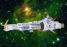 Space Battleship - EDF Littorio