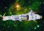 Space Battleship - EDF Littorio by Tzoli