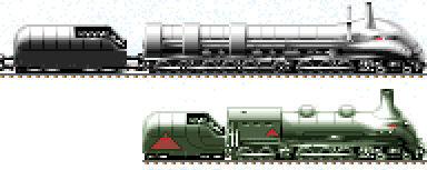 Locomotives of the Snow Age by Tzoli