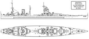 Modernized HMS St. Andrews by Tzoli