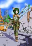 Tactical Natsuki by Tzoli