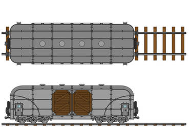 Transarctica Merchandise Wagon technical view