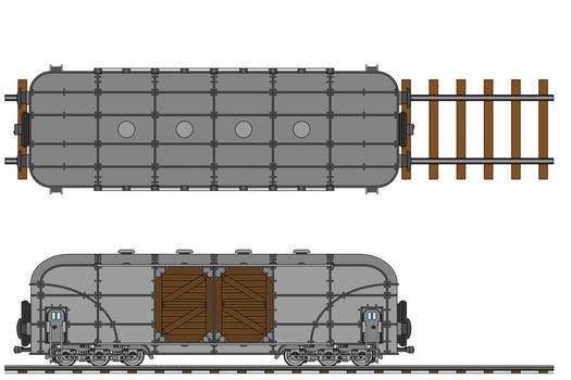 Transarctica Merchandise Wagon technical view