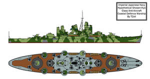 Shosen-kyo class Anti-Aircraft coastal battleship