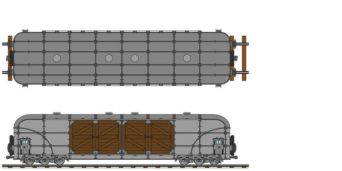 Transarctica XL Merchandise Wagon technical view