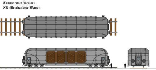Transarctica XL Merchandise Wagon technical view by Tzoli