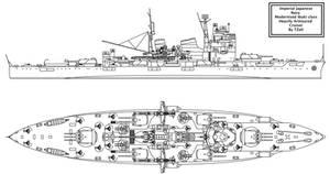 Modernised Ibuki class Cruiser