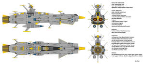 Space Battleship EDF Andromeda