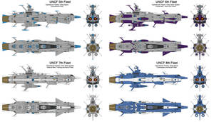 EDF Andromeda Fleet Colour Schemes Part 2 by Tzoli