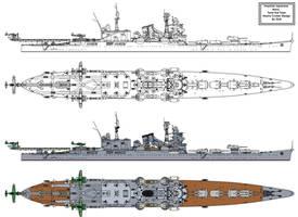 Tone Kai type Heavy Cruiser by Tzoli
