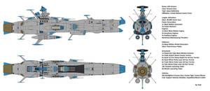 Space Battleship EDF Arizona
