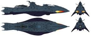 Deritera-class Astro Stealth Destroyer