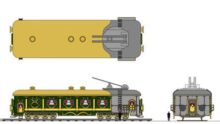 Le wagon d'Espionnage by Tzoli