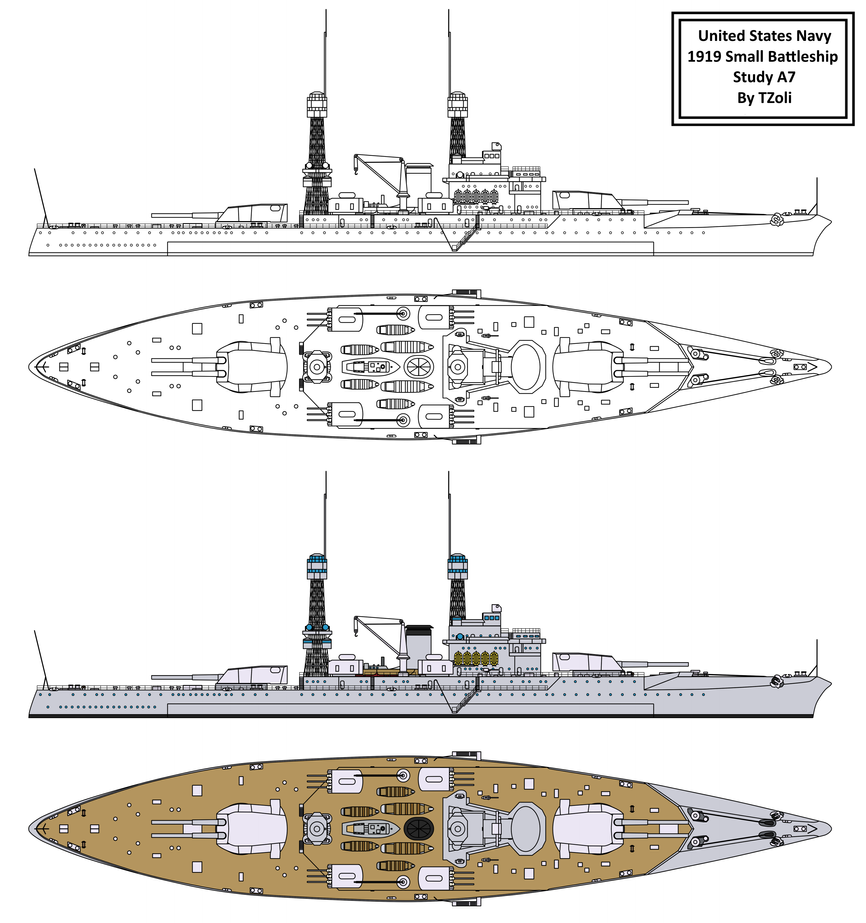 1919 Small Battleship Study By Tzoli On DeviantArt