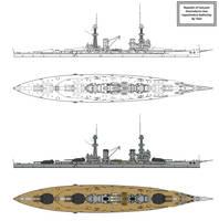 Oneirodynia class Battleship by Tzoli
