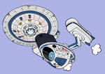 NCC-2000 USS Excelsior by Tzoli