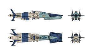 Isokaze class Refit EDF Shimakaze