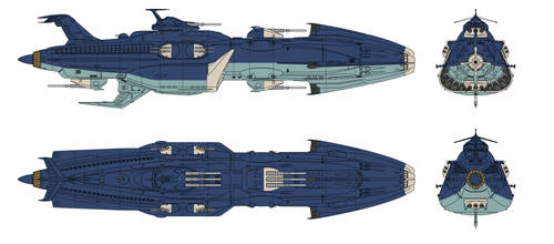 Kongo Anti Ship Refit EDF Otranto by Tzoli