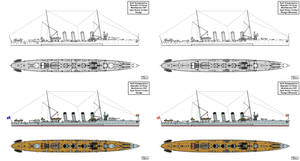 Monfalcone type Great Cruiser Design for China by Tzoli