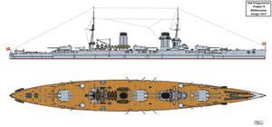 Austro-Hungarian Project IV Battlecruiser Design