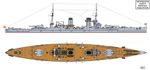 Austro-Hungarian Project VI Battlecruiser Design