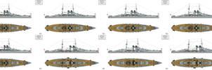 Ersatz Monarch Preliminary designs I-VIII by Tzoli
