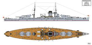 Austro-Hungarian Project V Battleship Design