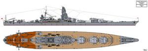 Ezaki Iwakichi Battleship Design B