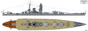 Yamato Preliminary Design A-140 by Tzoli