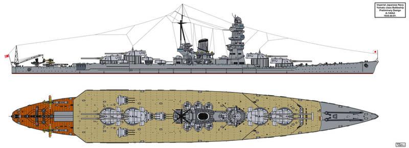 Yamato Preliminary Design A-140A2