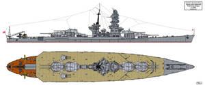 Yamato Preliminary Design A-140B2 by Tzoli