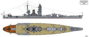 Yamato Preliminary Design A-140J0 by Tzoli