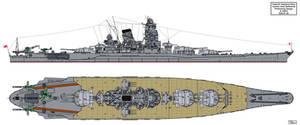 Yamato Preliminary Design A-140F5 by Tzoli