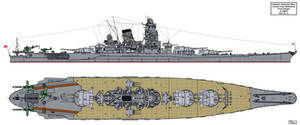 Yamato class Battleship Final Design A-140F6