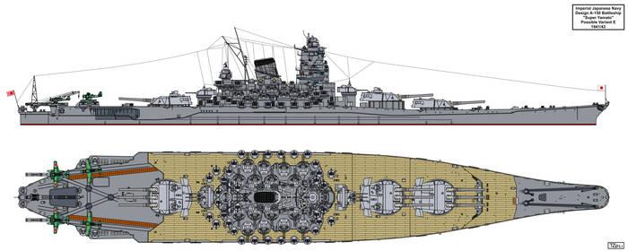 A-150 Super Yamato class possible variant E