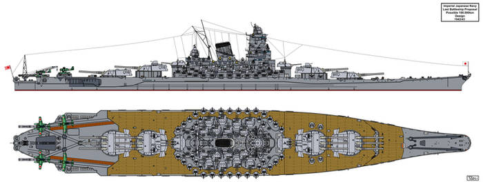 Last Japanese Battleship proposal