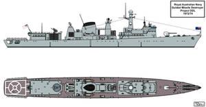 Australian Light Destroyer Project by Tzoli